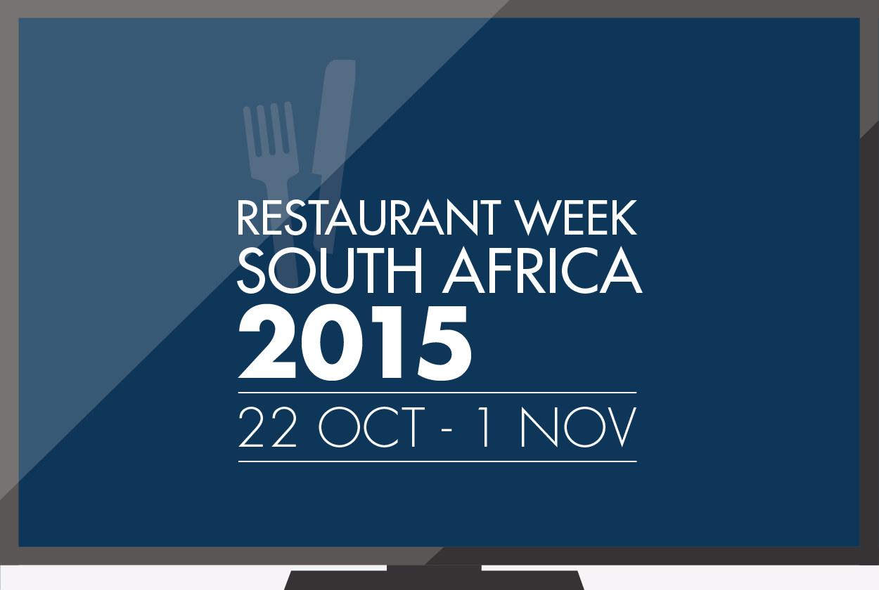 Restaurantweek Zuid-Afrika
