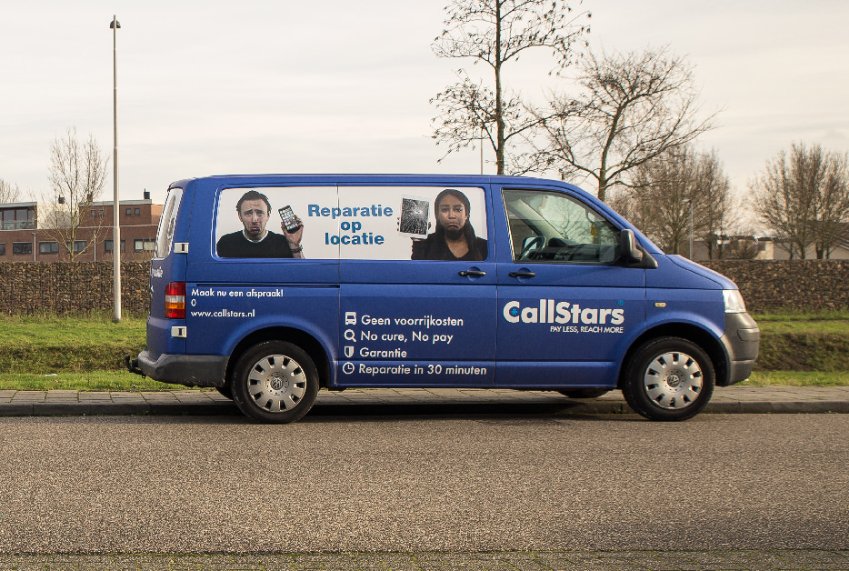Callstars Repairbus