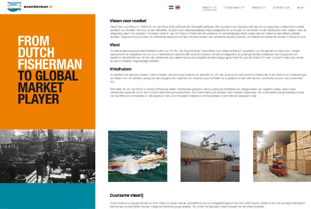 Webdesign Breda Singlepage parallax duizenddingen