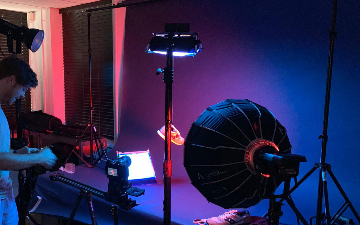 Saucony video productie breda bts
