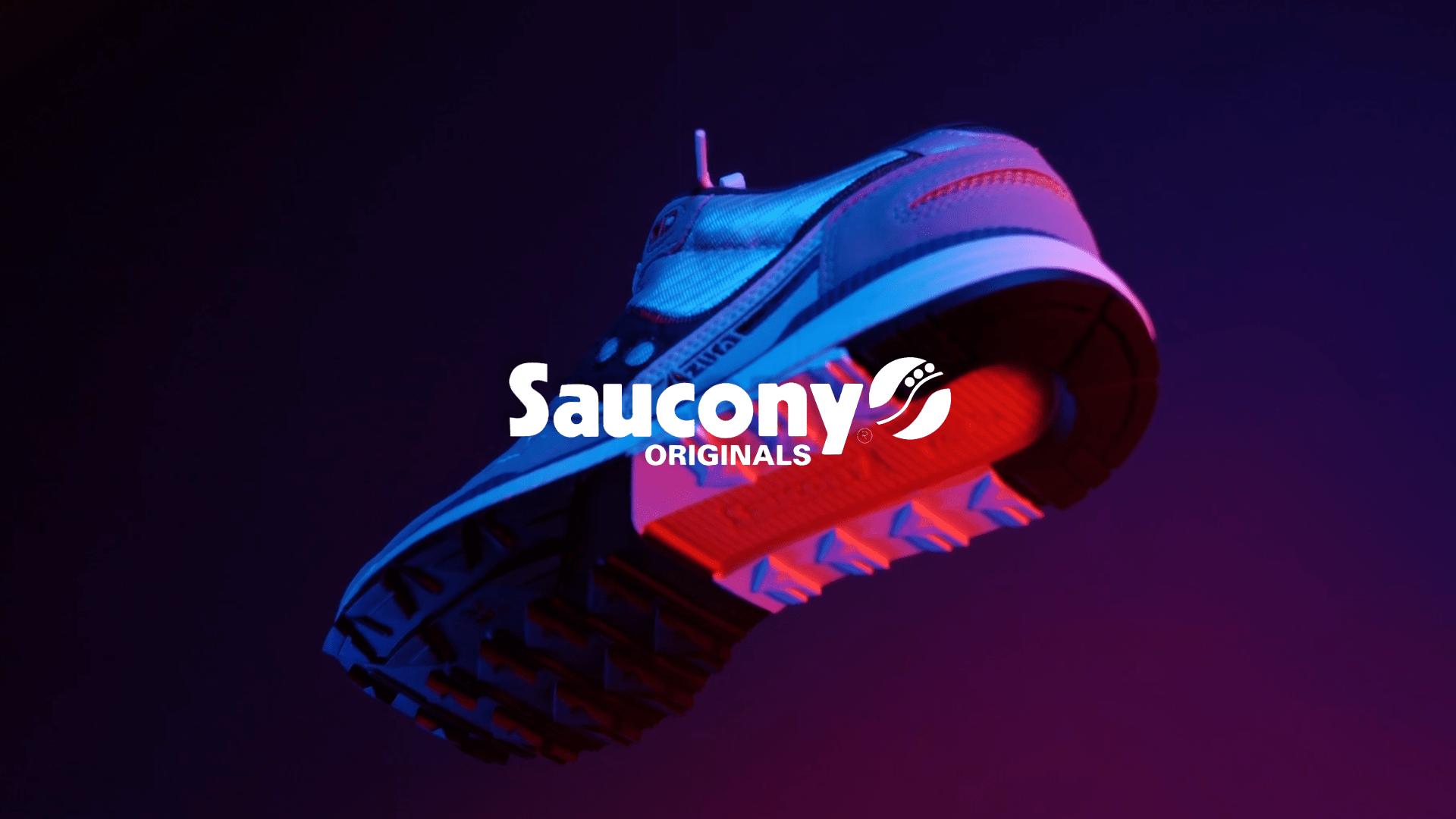 Saucony x Blue de Paname