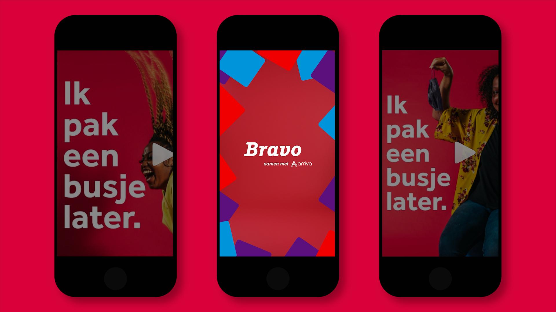 Bravo – Pak een busje later